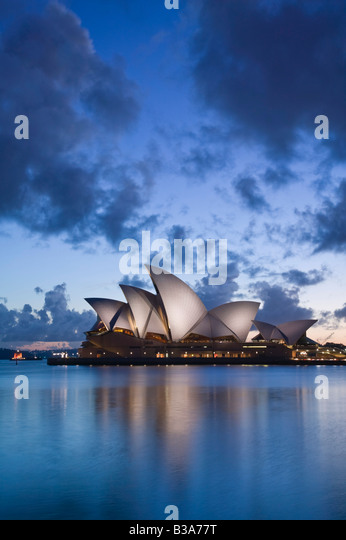 Australia, New South Wales, Sydney, Sydney Opera House Stock Foto
