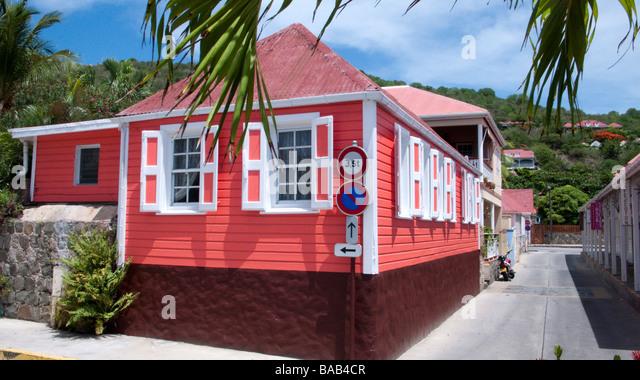 St Barts Island Street Views