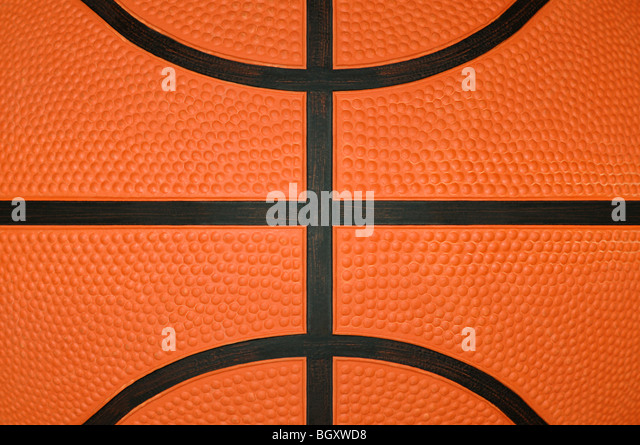 Basketball Close Up Stock Foto