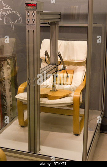 Chair testing machine at ikea furniture warehouse store for Ikea locations plymouth meeting pa