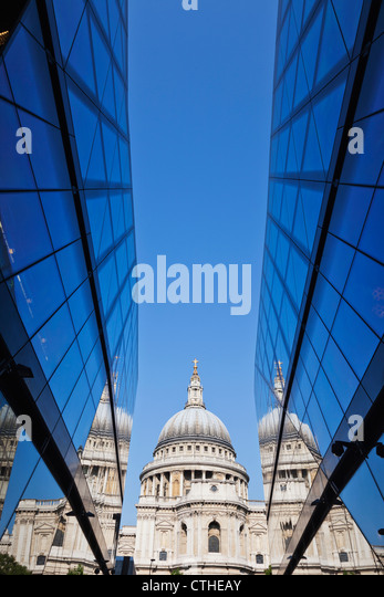 England, London, The City, St Paul's Cathedral Stock Foto