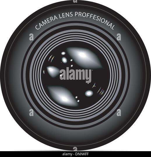 camera lens vector illustration Stock-Vektorgrafik