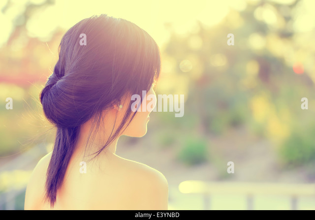 Asian Girl Portrait Stock Foto