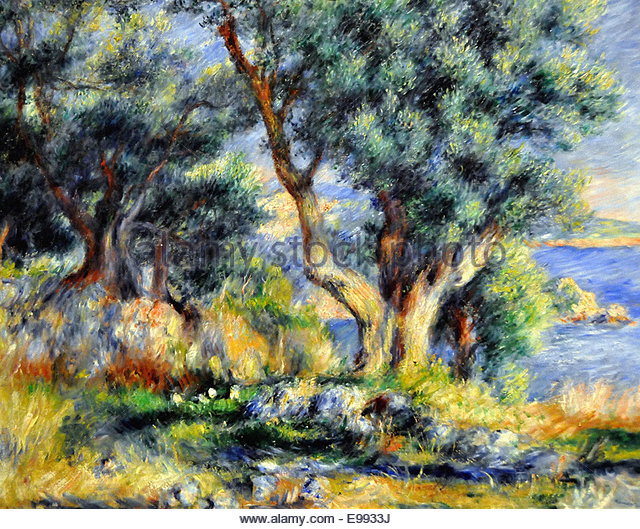 Image hotlink - 'http://c640c.alamy.com/640c/e9933j/pierre-auguste-renoir-landscape-on-the-coast-near-menton-e9933j.jpg'