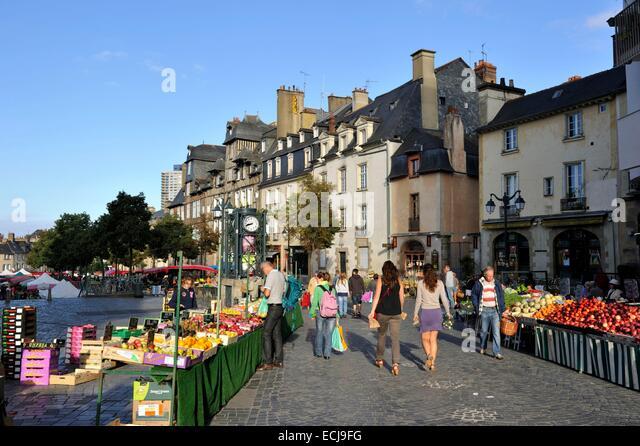 France ille et vilaine rennes place des lices market - Magasins de meubles rennes ille et vilaine ...