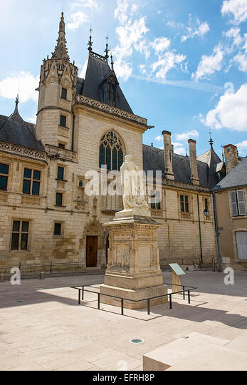 Bourges cathedral bourges france stock photo royalty free image 78579782 alamy - Stock industriel bourges ...