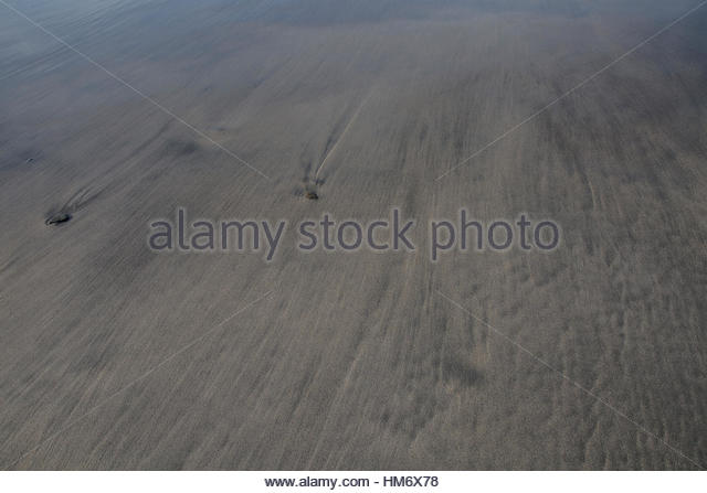 Sandscape of St. Ninian's Isle Stock Photo
