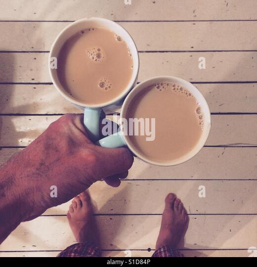 Morning Tea Stock Foto